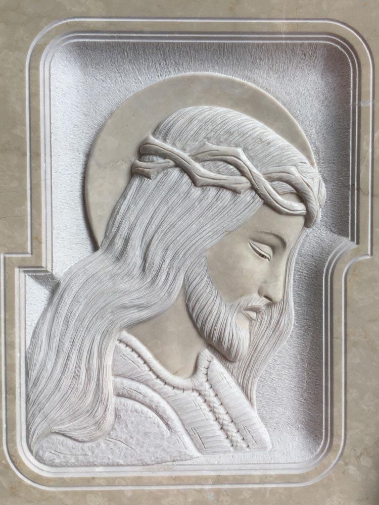 Cristo in basso rilievo