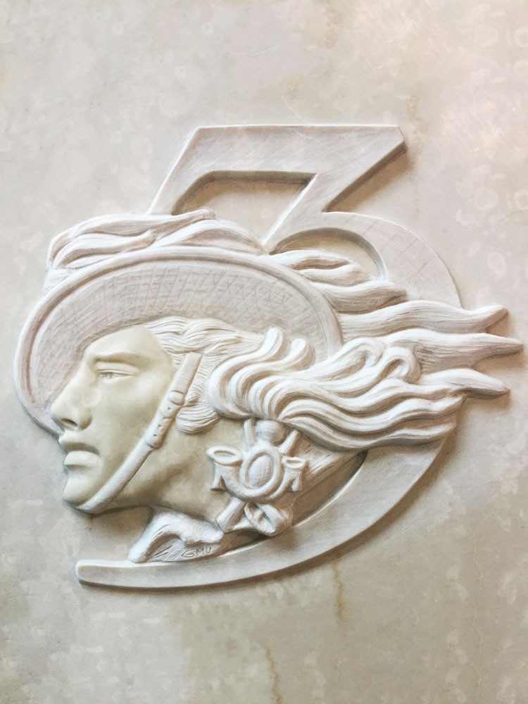 Customized works in marble or granite – Bersagliere